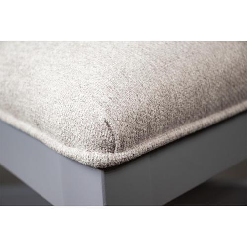 Riverside - Osborne - Upholstered Ladderback Side Chair - Gray Skies Finish