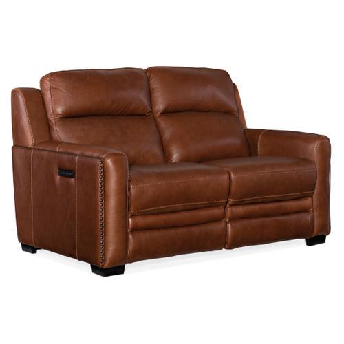 Hooker Furniture - Lincoln Power Recline Loveseat w/Power Headrest&Lumbar Rec