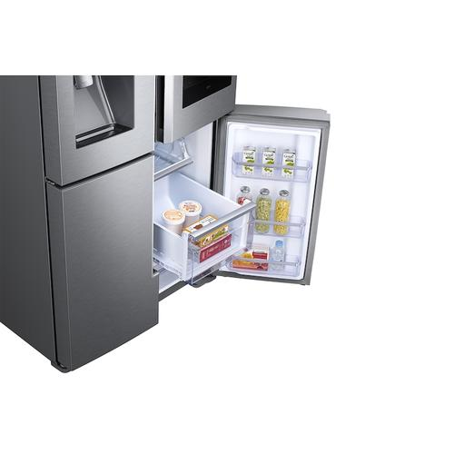 28 cu. ft. Family Hub™ 4-Door Flex™ Refrigerator in Stainless Steel