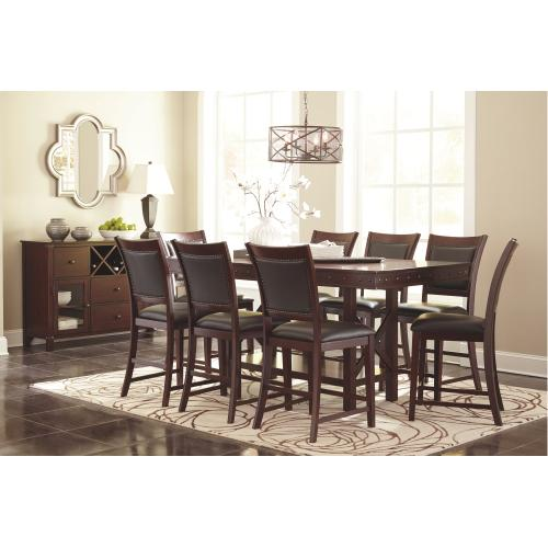 Gallery - Counter Height Dining Table and 8 Barstools