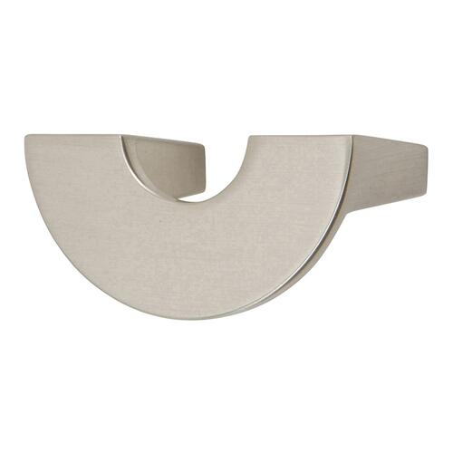 Roundabout Knob 1 1/4 Inch (c-c) - Brushed Nickel
