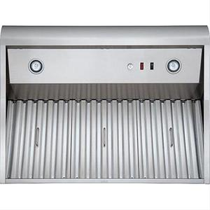 """48"""" Stainless Steel Model WPD38I48SB Pro-Style Outdoor Hood, 1300 Max CFM"""