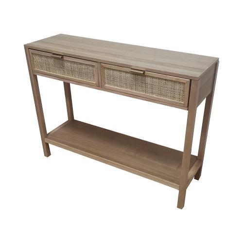 A & B Home - Desk,Natural