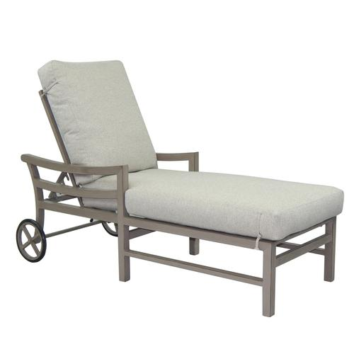 Castelle - Roma Cushioned Chaise Lounge