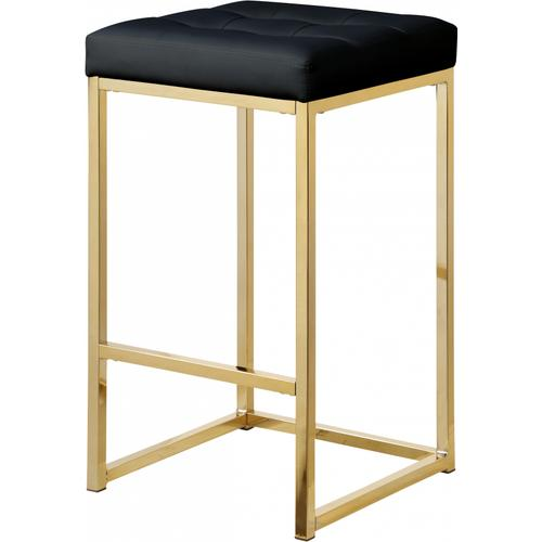 """Nicola Faux Leather Counter Stool - 15"""" W x 15"""" D x 26.5"""" H"""