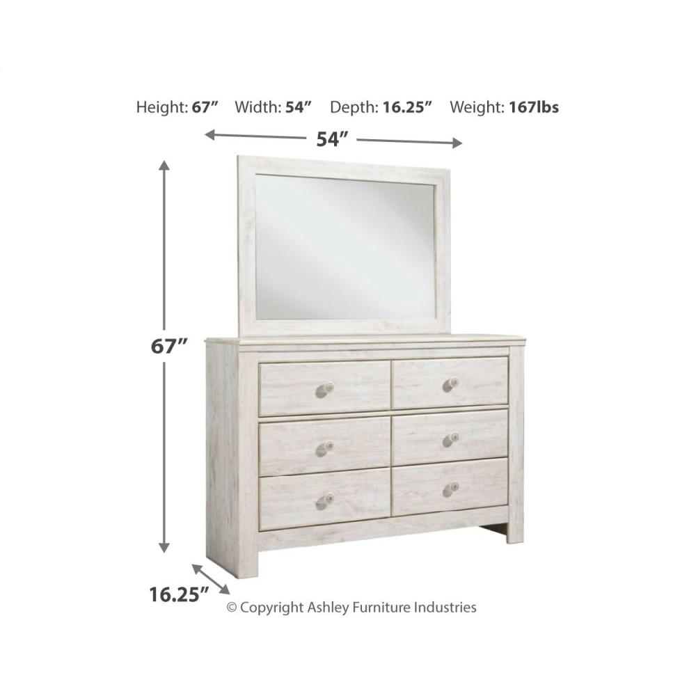 Paxberry Dresser and Mirror