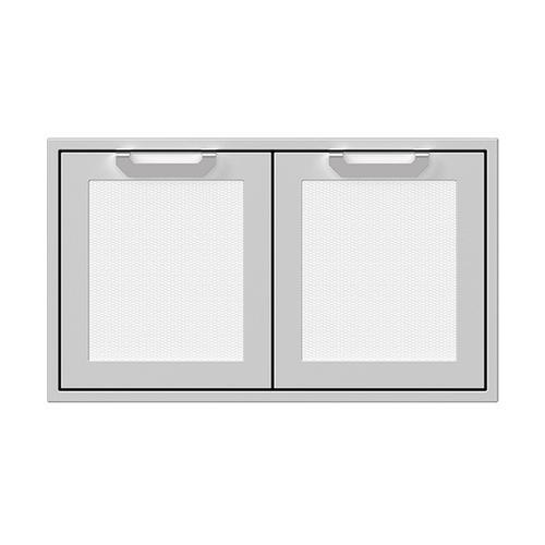"""Hestan - 36"""" Hestan Outdoor Double Storage Doors - AGSD Series - Froth"""