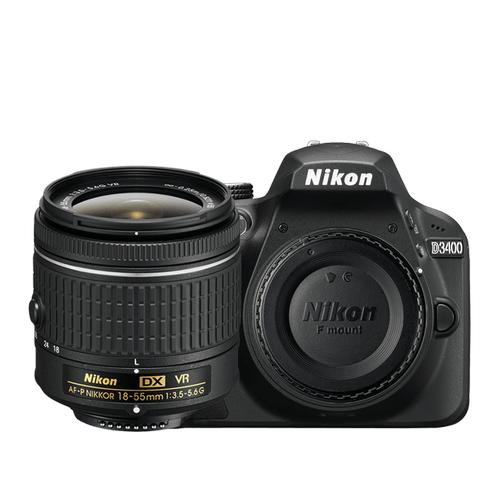 D3400 18-55mm VR Lens Kit Black