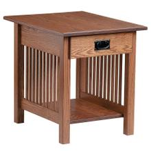 See Details - Mission End Table with Drawer