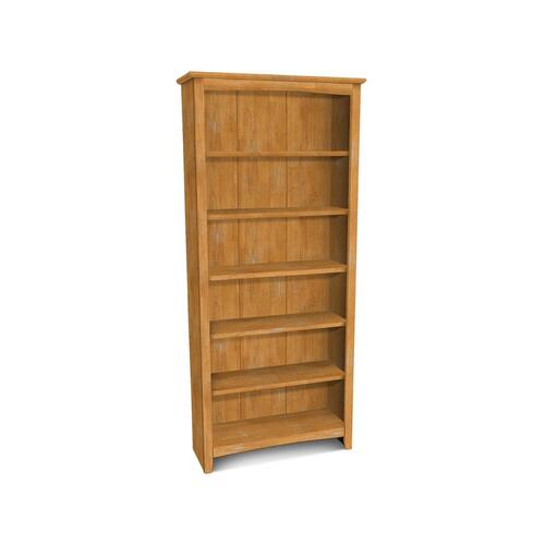 72''H Shaker Bookcase