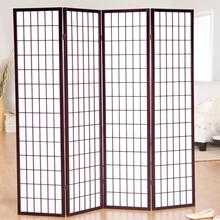 See Details - 4 PANEL ROOM DIVIDE (CHERRY)