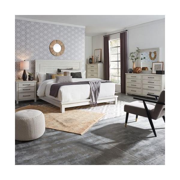 See Details - King California Platform Bed, Dresser & Mirror, Chest, Night Stand