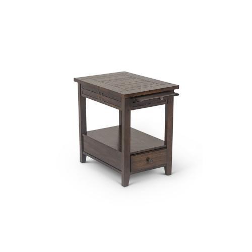 Crestline Chairside End Table