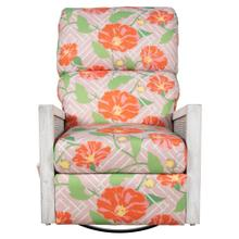 Recliner Glider, Recliner arms available in Distressed White or Distressed Grey Finish.