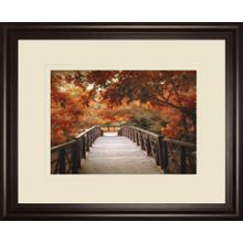 """Footbridge"" By Jessica Jenney Framed Print Wall Art"
