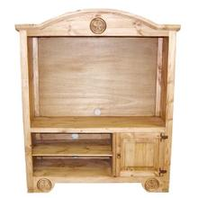 See Details - Flat Screen Armoire W/ Star