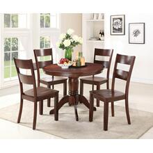5 PC Dining - Dining Table and Four Side Chairs