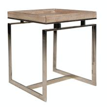 Lamp Table, Available in Weathered Brown Only