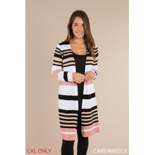Striped Cardigan - L/XL (2 pc. ppk.)