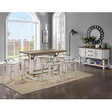 Pendleton 5-Piece Counter Dining Set (Counter Table & 4 Counter Stools)