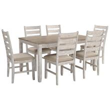 D394-425  Dining Room Table Set (7/CN)
