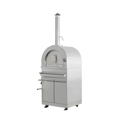 Thor Kitchen - Outdoor Kitchen Pizza Oven and Cabinet In Stainless Steel
