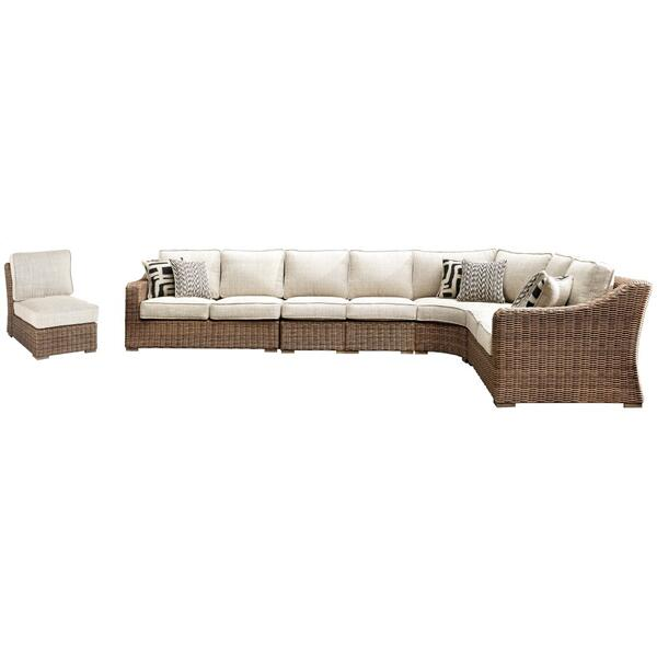See Details - Beachcroft 6-piece Outdoor Seating Set