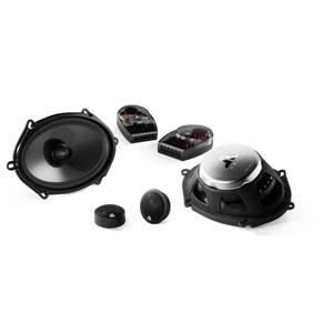 JL Audio - 5 x 7 / 6 x 8-inch (125 x 180 mm) Convertible Component/Coaxial Speaker System