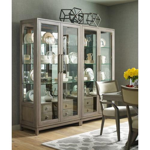 Bunching Display Cabinet