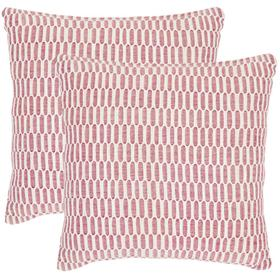 Honeycomb Pillow - Red