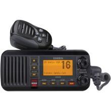 See Details - 25-Watt Fixed-Mount Marine Radio with DSC (Black)