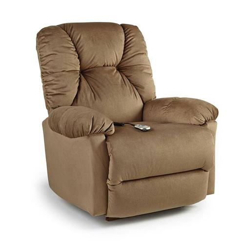 ROMULUS Medium Recliner, Coffee