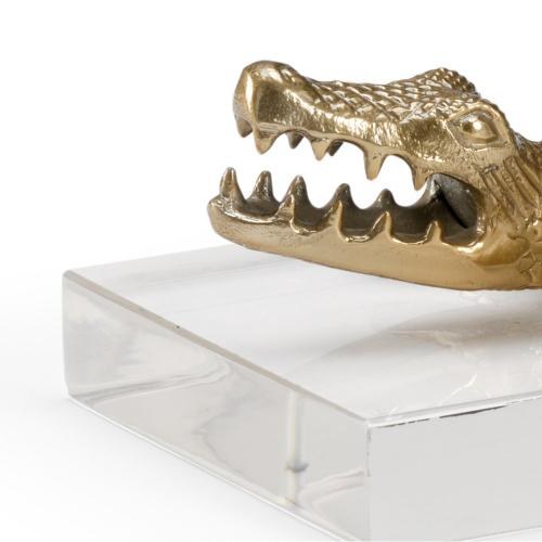 Croc of Brass