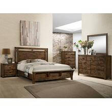 Curtis 5pc Panel Bedroom Group in a Rustic Finish       (B4800-*)