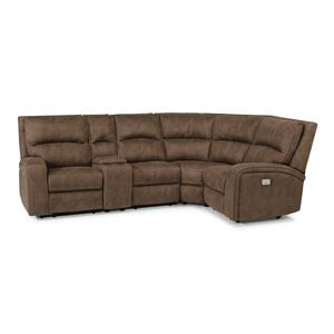 Nirvana Power Reclining Sectional with Power Headrests