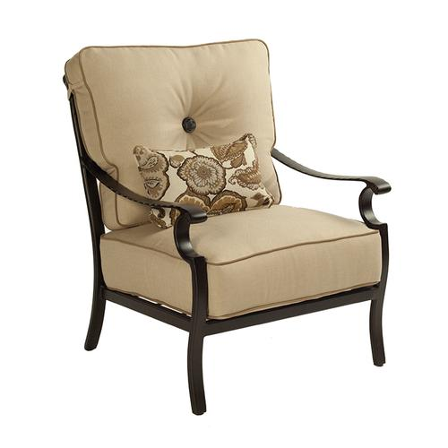 Castelle - Monterey High Back Cushioned Lounge Chair
