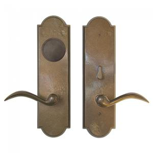Arched Card Lock Trim Silicon Bronze Brushed Product Image