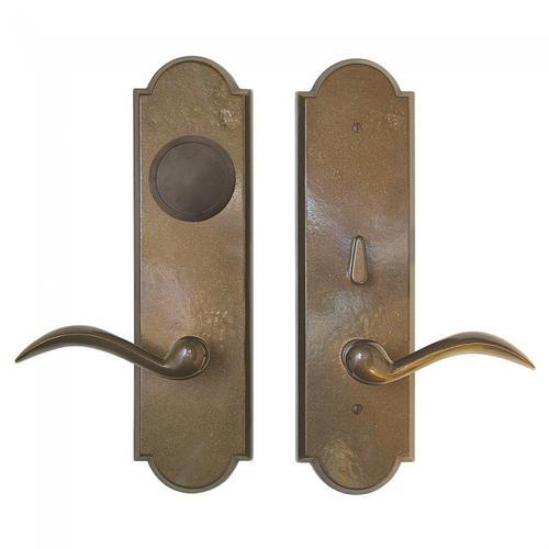 Rocky Mountain Hardware - Arched Card Lock Trim White Bronze Dark