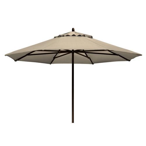 Commercial Market Umbrella 9' Powdercoat Aluminum Commercial Market Umbrella