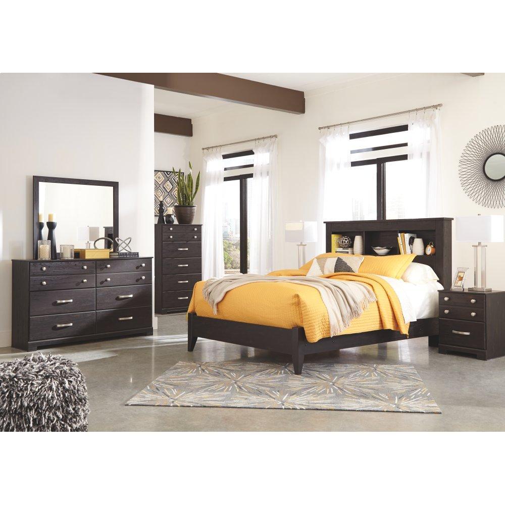 Reylow Queen Bookcase Bed