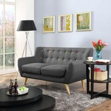 See Details - Remark Upholstered Fabric Loveseat in Gray
