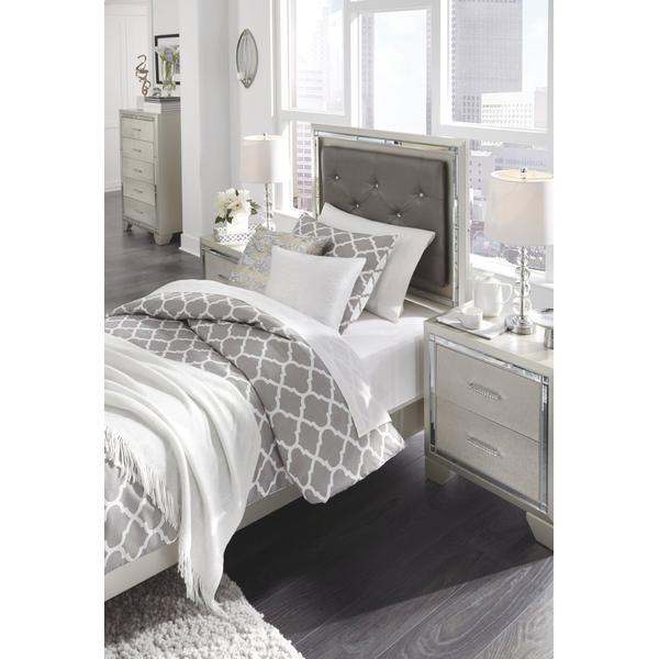 Lonnix Twin Panel Bed