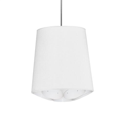 1lt Hadleigh Pendant Jtone Whsmall Polished Chrome