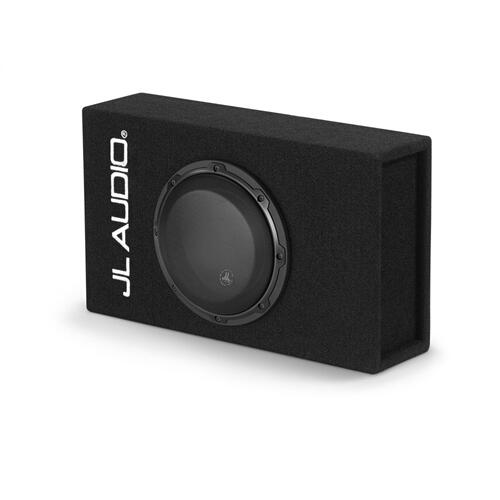 JL Audio - Single 8W3v3 MicroSub+™ with DCD™ Amplifier, Ported, 0.40