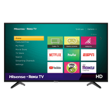 "32"" Class - H4 Series - HD Hisense Roku TV (2019)"
