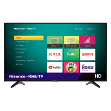 "32"" Class - H4 Series - HD Hisense Roku TV (2019) SUPPORT"