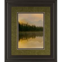 """""""Twilight Reflection I"""" By Danita Delimont And Mossy Oak Native Living Framed Print Wall Art"""