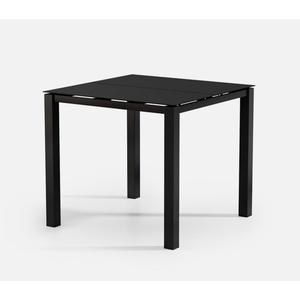 "44"" Square Bar Table (no Hole) Ht: 40"" Post Aluminum Base (Model # Includes Both Top & Base)"