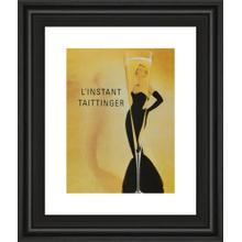"""""""Taittinger"""" Framed Print Wall Art"""