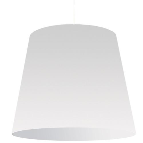 1lt Oversized Drum Pendant X-large White Shade
